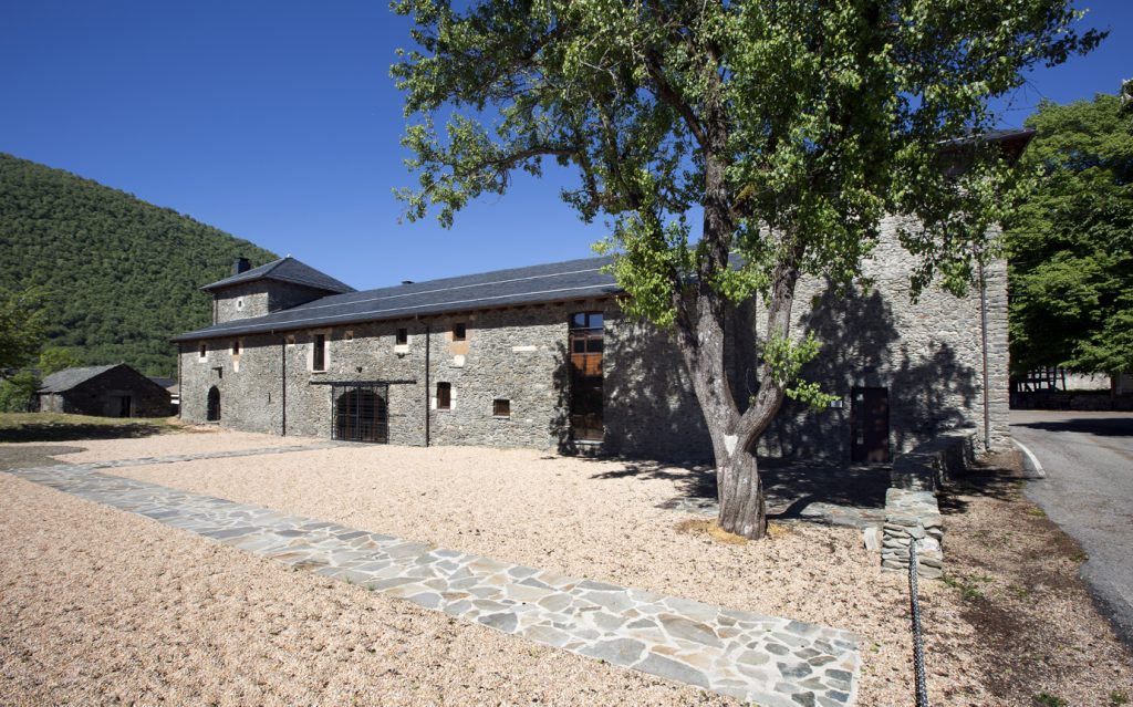 La Casona, Centro de Interpretación de la Reserva de la Biosfera de Omaña y Luna